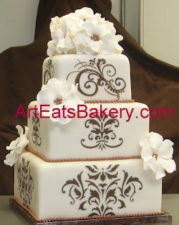 3 Tier Wedding Cakes 34 Trend Round romantic wedding cake
