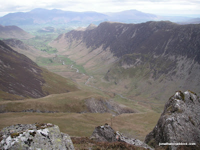 View over Newlands from Hindscarth Edge