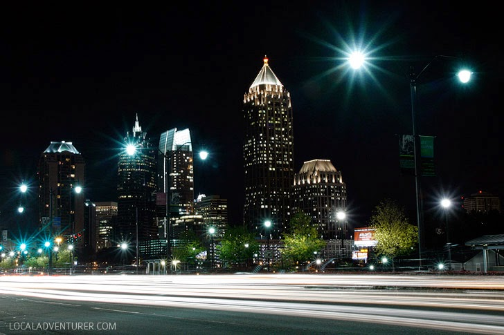 Moving to a New City: Downtown Atlanta.