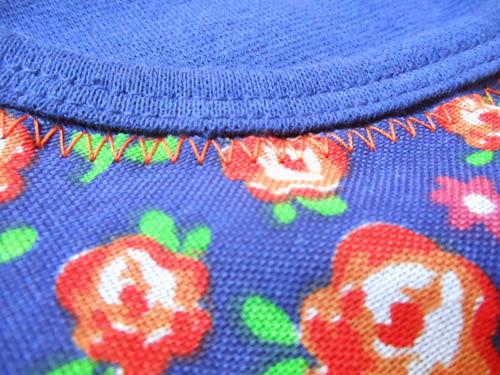 DIY customizar blusa com tecido estampado