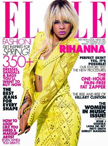 Rihanna for ELLE Magazine May 2012