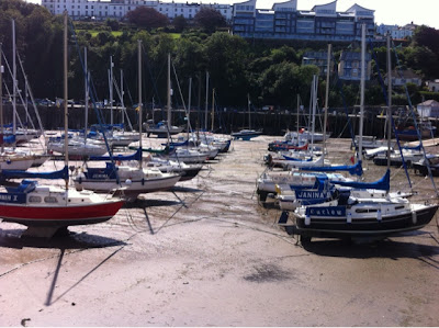 Illfracombe Harbor Devon