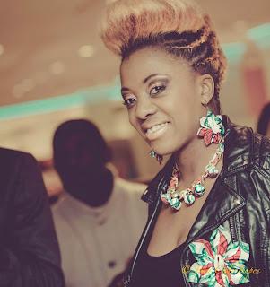 Christelle Pandanzyla, une Congolaise vivant à Bruxelles (Belgique). Photo Droits Tiers.