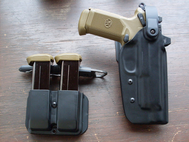 Tech wrs duty holster for my fnp 45 tactical w rmr pics amp review