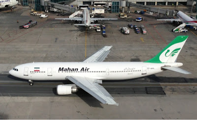 Mahan Air at Istanbul Ataturk Airport