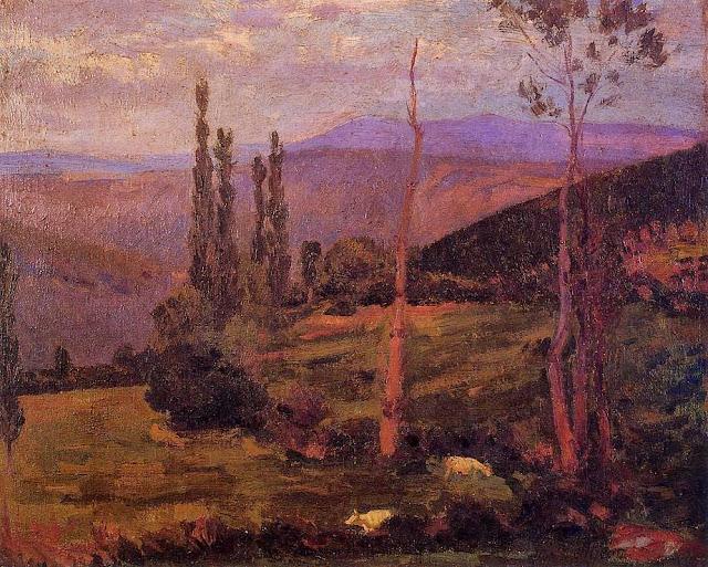 Hippolyte Petitjean - Landscape