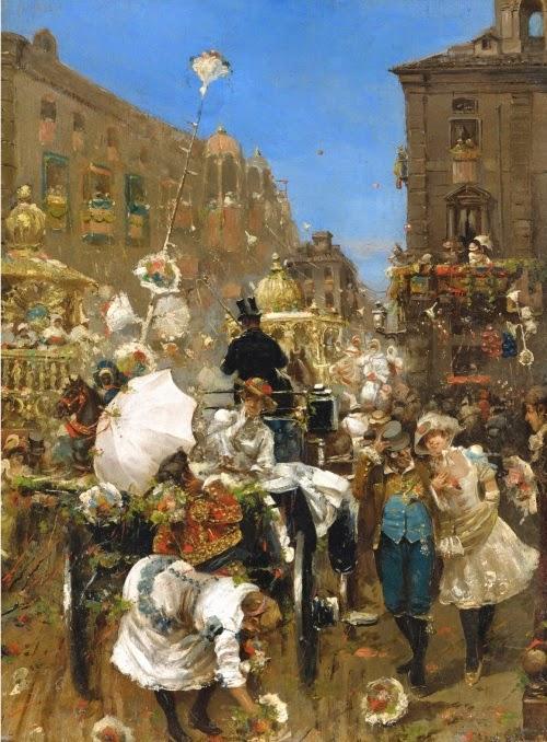 Daniel Hernández Morillo - Il Corso Mascherato, Rome
