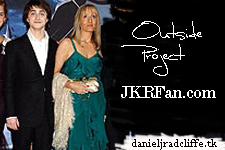 Danieljradcliffe.tk supports JKRFan.com's Birthday Project: Comic Relief