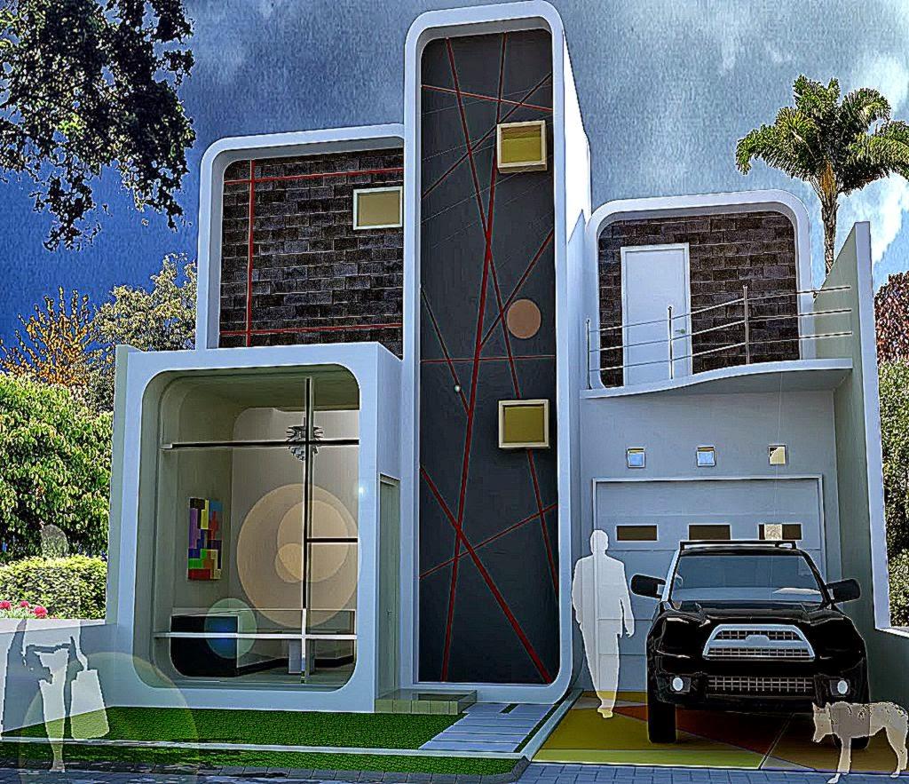 contoh rumah minimalis gallery taman minimalis