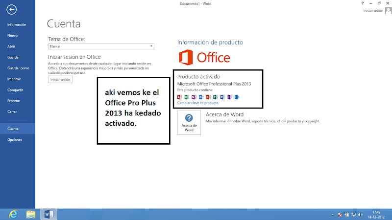 Activar Office Professional Plus 2013 Offline