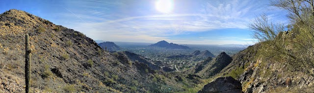 Phoenix Mountain Preserve - 40th St. Trailhead