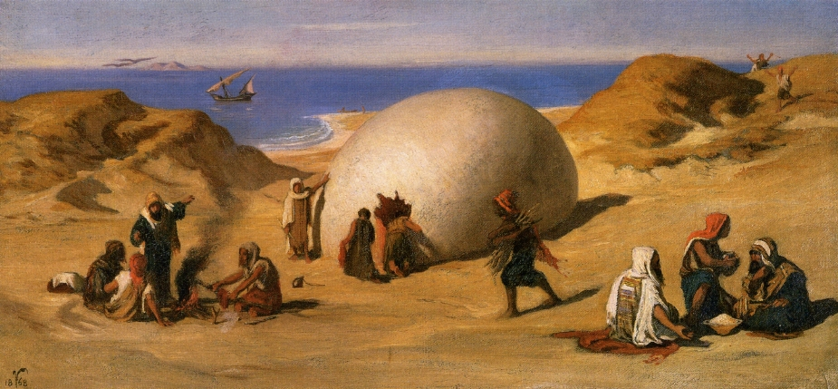 Elihu Vedder - The Rock's Egg