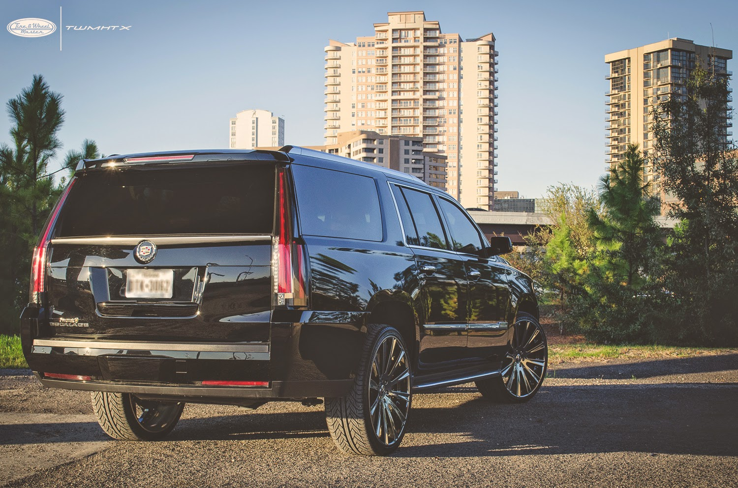 "slim thug's cadillac escalade with 26"" forgiato lavorato rims and"