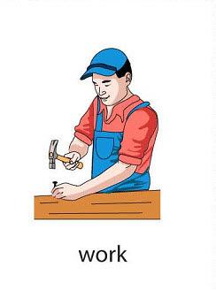 work%2520 %2520flashcard Verb flashcard