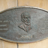 Mindeplade for James Joyce