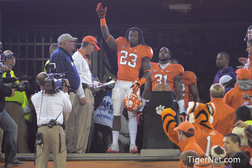 Clemson vs. South Carolina - Seniors on the Hill Photos - 2012, Andre Ellington, Football, Seniors, South Carolina
