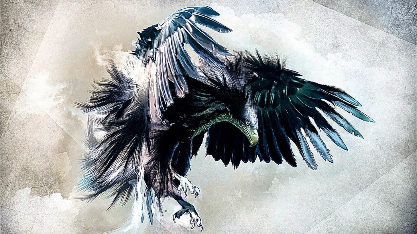 wallpaper hd 3d eagle wallpaper background gallery