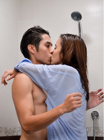 Delighful Bathroom Kissing Images In More Image Ideas With Design