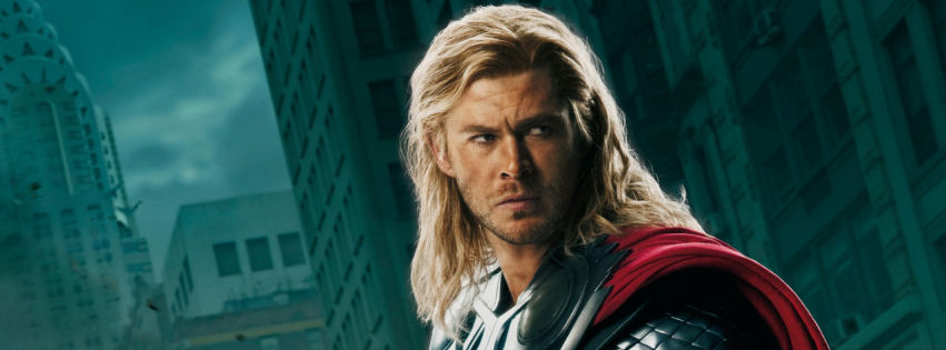 The avengers thor facebook cover