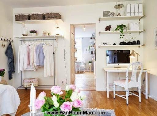 <strong><em>Thiết kế tủ quần áo</em></strong>: Khẳng định con mắt thẩm mỹ với tủ quần áo mở-5
