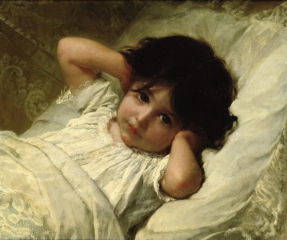 Émile Munier - Portrait of Marie-Louise