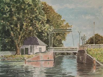 Wijkerbrug Voorburg http://www.watercolours.nl/