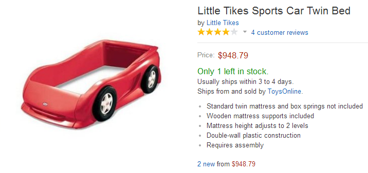 Little Tikes Twin Car Bed Bugs In. Red Sport Car Bed   Best Sport Cars 2017
