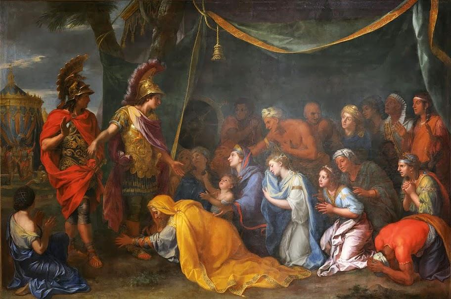 Charles Le Brun - Les reines de Perse aux pieds d'Alexandre dit aussi la tente de Darius - Google Art Project