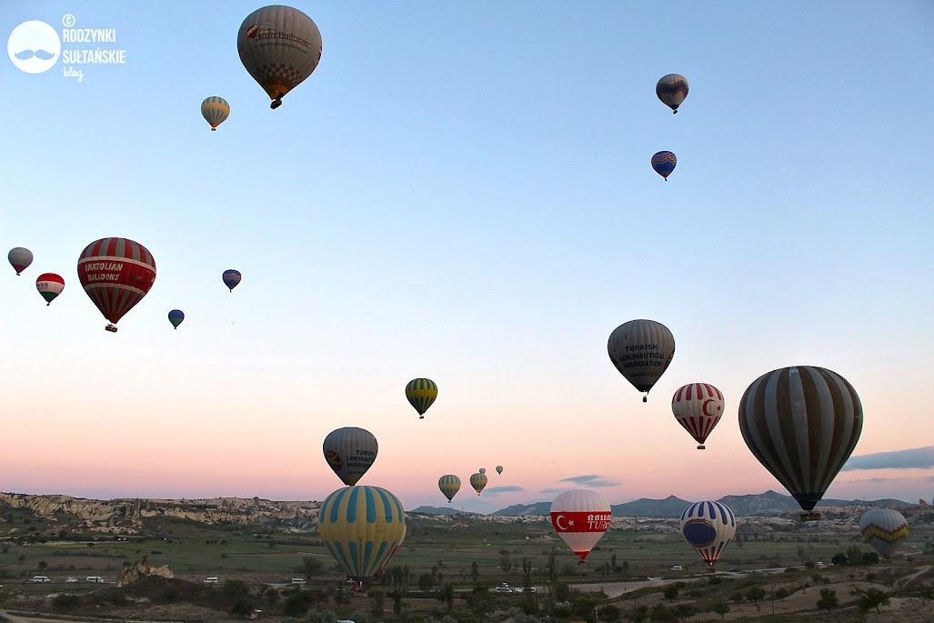 Lot balonem nad Kapadocją z Cappadocia Voyager Balloons - niesamowite przeżycie!