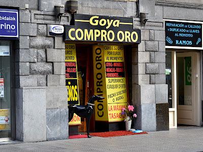 Tienda Oro Efectivo Bilbao