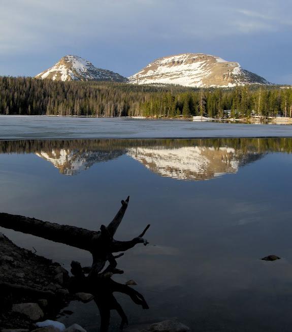 Reid's Peak and Bald Mountain over Trial Lake