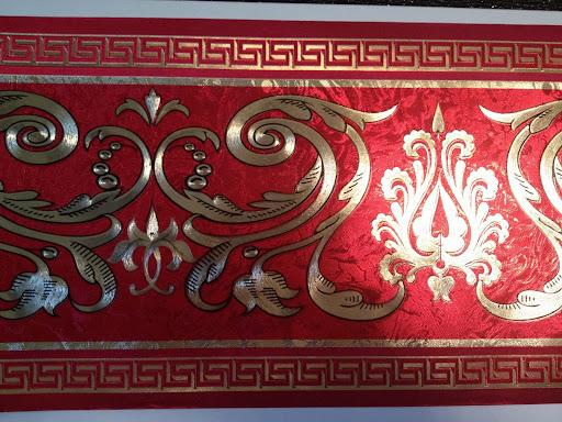 Versace Tapeten Auf Rechnung : Die Bord?re wird auf allen Tapeten,einschlie?lich Raufasertapete und