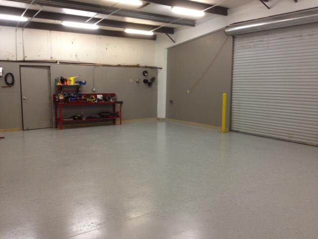 Bear 39 s best atlanta golf course maintenance january 2013 for Mechanic shop flooring