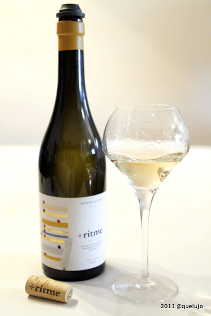 Vino blanco Ritme 2010, Bodega Acústic Celler (D.O.Q Priorat) de Albert Jane