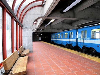 Metrou cu roți în Montreal
