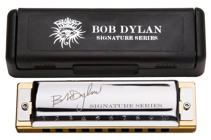 Kèn Harmonica - Hohner Bob Dylan Signature (key C)