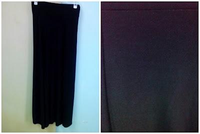 Skirt Pallazo Hitam