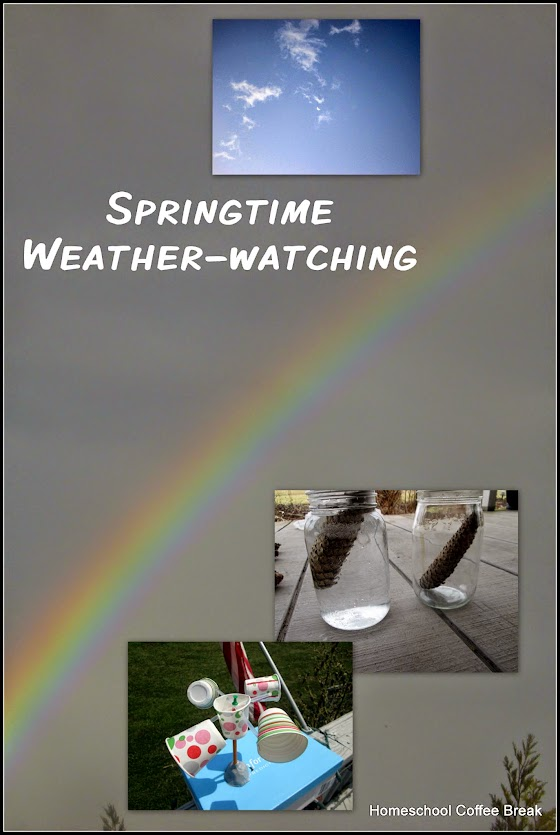 Springtime Weather-watching on Middle School Monday @ kympossibleblog.blogspot.com