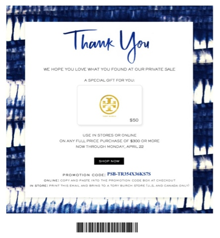 40 Off Tory Burch Promotion Codes Promo 2018