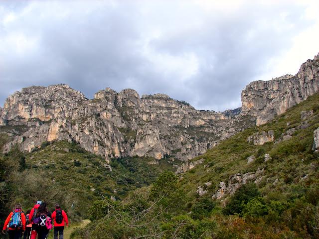 senderismo - Bco Lloret - Cova Pintada - Avenc de la Solana - Canal de l'Ombria - Pas del Julivert
