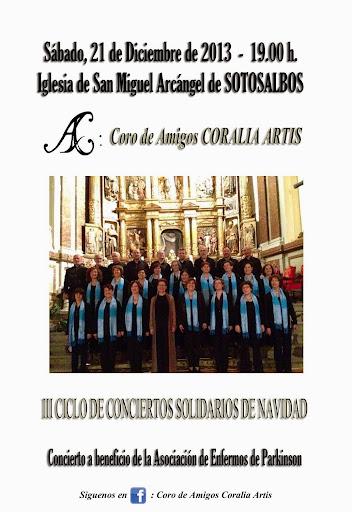 Concierto solidario en Sotosalbos