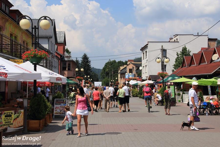 Wisła - ulica 1 maja