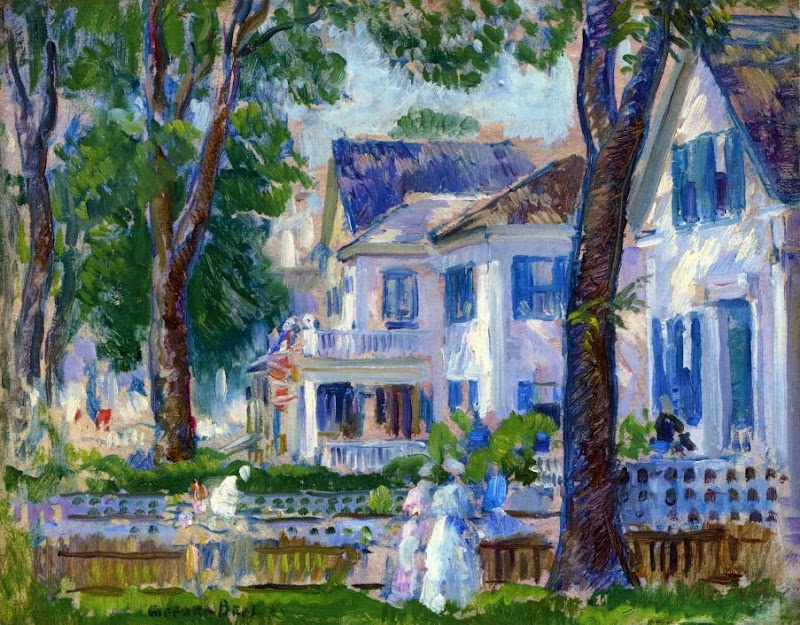 Gifford Beal - White Houses