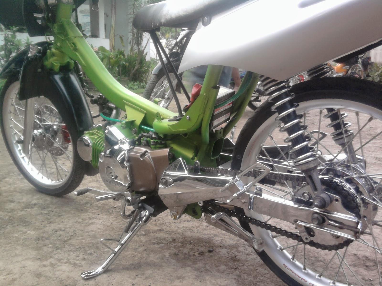 Honda Karisma Modifikasi Minimalis