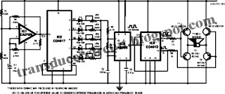 Electronic Pest Repeller Mice Repellant ~ Transducer Circuit Diagram