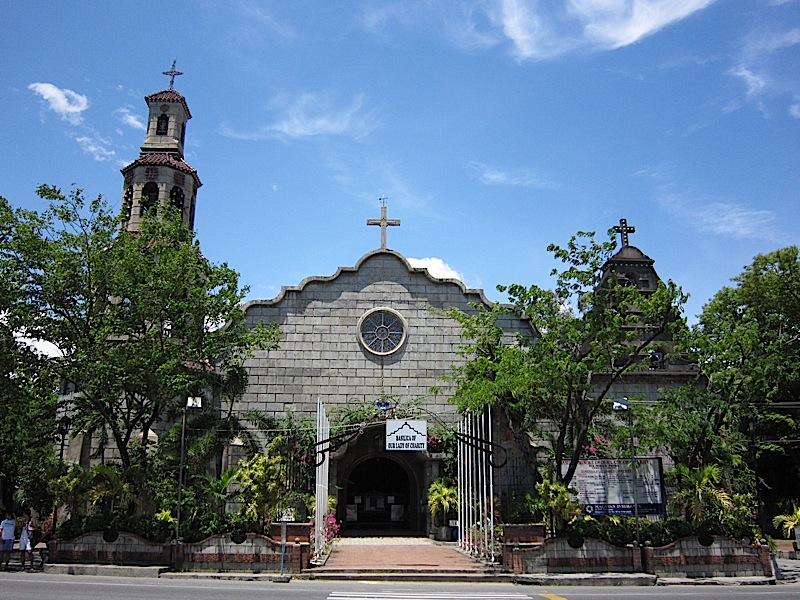 facade of the Agoo Basilica