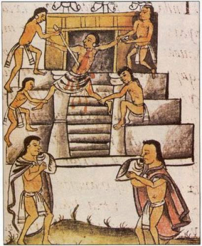 Bizarre Facts Human Sacrifice