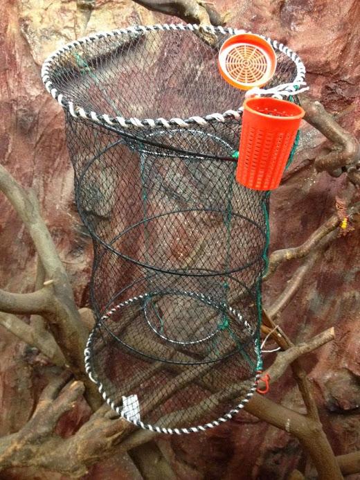 Köderdose,33 x 60cm,Top preis! Fischreusen,Aalreusen,Krebsreusen,Reusen,Reuse