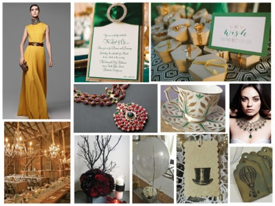 Oz the Great and Powerful inspiration board