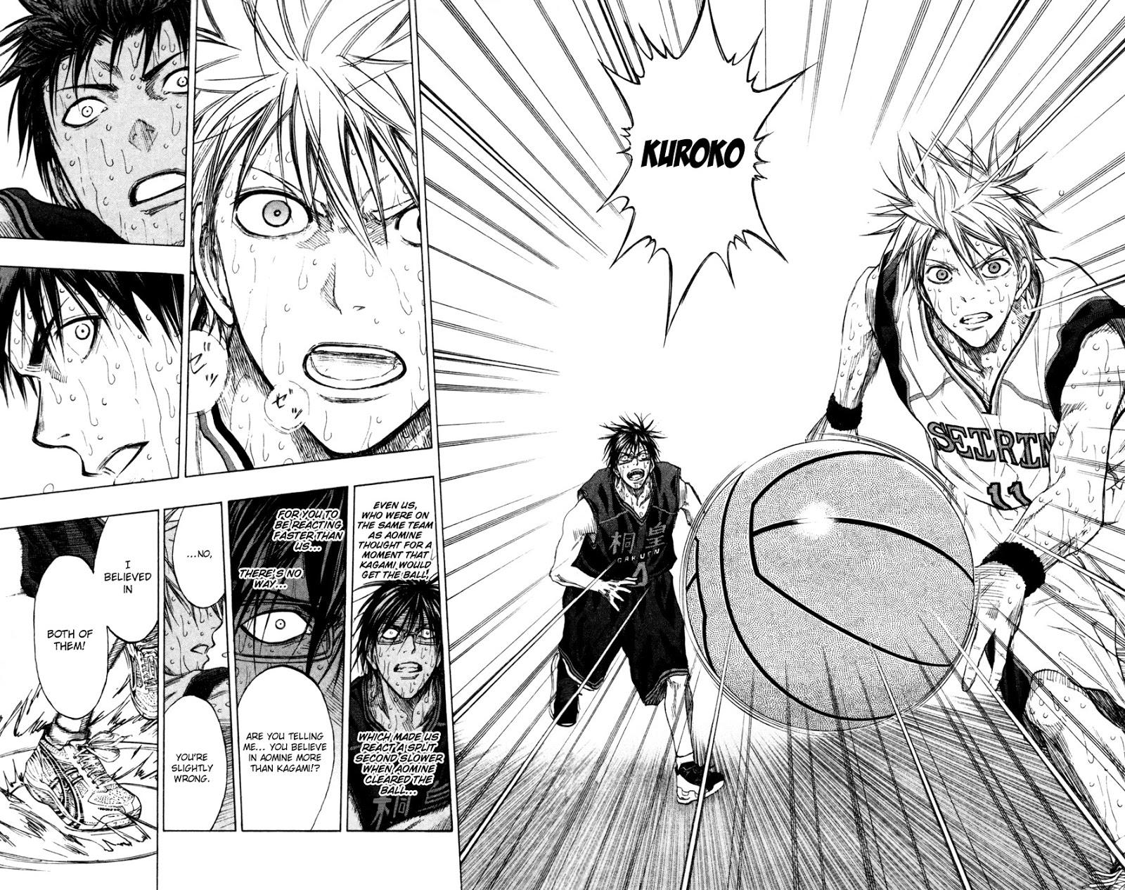 Kuroko no Basket Manga Chapter 138 - Image 16-17